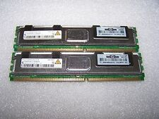 4GB HP 398707-051 DDR2 667MHz PC2-5300F Fully Buffered Server FBDIMM, (2x 2GB)