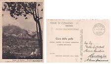 # TERME DI COMANO- LABITATO DI VILLA E IL GRUPPO DOLOMITI DI BRENTA..   1939