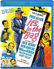 BLU RAY FRED ALLEN, JACK BENNY, IT'S IN THE BAG, OLIVE FILMS, , USED, LIKE NEW