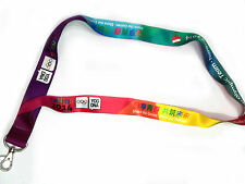 PKOL Polish Olympic Team Lanyard from Youth Olympic Games Nanjing China 2014