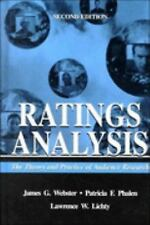 Ratings Analysis: Theory and Practice (Routledge Communication Series) Webster,