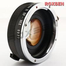 Zhongyi Obiettivo Turbo II Messa a fuoco Riduttore Adattatore Canon EOS supporto