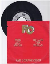 "Far Corporation, Fire and water, G/VG  7"" Single 0999-46"
