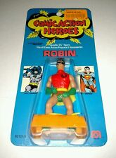 COMIC ACTION HEROES ROBIN FIGURE 1975 VINTAGE MEGO BRAND NEW ON CARD RARE