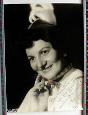 PHOTO HARCOURT ACTRICE MARIE JOSEE NEUVILLE THEATRE OPERETTE ANGERS 1957 N434