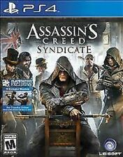 Assassin's Creed Syndicate RE-SEALED Sony PlayStation 4 PS SP4 GAME