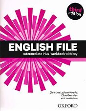 Oxford ENGLISH FILE Intermediate Plus THIRD EDITION Workbook with Answer Key NEW