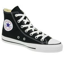 Converse Black All Star High-Tops Mens 8  / Women's Size 10