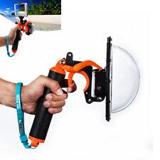 """TELESIN Dome Port Lens 6"""" Diving Underwater Pistol Trigger for GoPro Hero 4 3+ 3"""