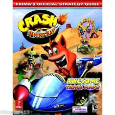 Crash Nitro Kart : Prima's Official Strategy Guide (GC, PS2, Xbox, GBA) **NEW**