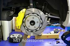 """SUBARU LEGACY 2003-09 Brake pad kit disc 330mm 13"""" rotors 4 piston calipers REAR"""