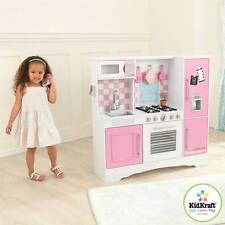 KIDKRAFT WOODEN CULINARY KITCHEN CHILDS PLAY KIDS GIRLS BOYS PASTEL