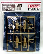 Fine Molds fm14 1/35 GERMAN INFANTRY WINTER CAMOUFLAGE (4 cifre)