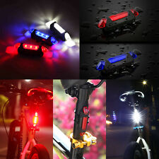 Hot Sale USB Rechargeable Bicycle Bike Cycling Night Tail Rear Safety Light Lamp