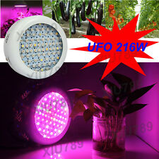 UFO 216W Full Spectrum LED Grow Light For Hydroponics Plants Flower Fruit Vege