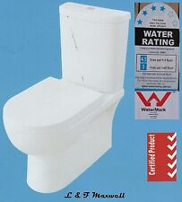 FULL CERAMIC TOILET SUITE - SOFT CLOSE SEAT