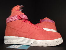 Nike LUNAR AIR FORCE 1 HI UNDFTD SP UNDEFEATED RED WHITE ORANGE 652806-660 DS 13