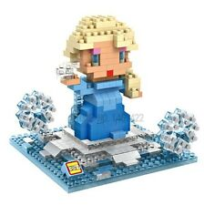 Disney Frozen Elsa Nano Block Diamond Mini Building Toys - 280 Pieces