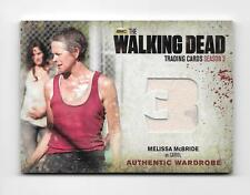 2014 THE WALKING DEAD 3 PART 1 #M23 CAROL'S WARDROBE RELIC W/STAIN VARIANT
