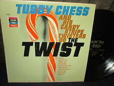 """Tubby Chess and His Candy Stripe Twisters do the """"Twist"""" LP"""