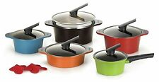 Happycall Hard Anodized Ceramic Nonstick Pot 13-piece Set, Oven Safe, Dishwas...