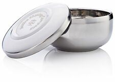 Justice Shaving Company Stainless Steel Shaving Bowl with Lid