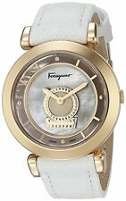 Salvatore Ferragamo Minuetto Rotating Gancino Swiss Women's Watch FQ4270015