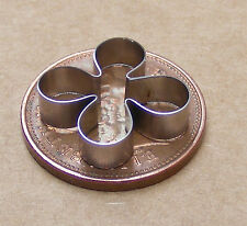 Metal Azalea Rhododendron Clay Cutter Dolls House Miniature Sugarcraft Accessory