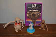 "Vintage E.T.Lot, Card Game 2 figures, Kraft Figure 3"" Promotional Mac N' Cheese"