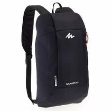 Quechua Hiking Water Repellent Mini Backpack Rucksack Arpenaz 10L (Black)