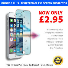 """Genuine Tempered Glass Screen Protector Film 0.4mm for Apple iPhone 6 Plus 5.5"""""""