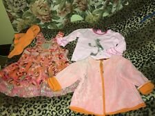 Gorgeous Girls  Oilily Outfit Pink And Orange 12 To 18 Months