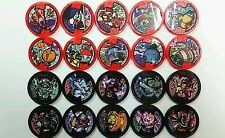 BANDAI DX Yokai Watch. Japan Version Toys Collection 2 color frame Medal × 20