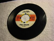 Eddie Fontaine - I'M Gonna Settle Dowm B/W My Heart Belongs To You WB Promo 5313
