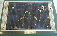 """Time Bandits Reproduciton Map - Terry Gilliam 20""""x33"""" approx size"""