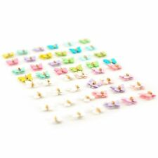 3D Coloured Butterflies for Card Scrapbooking Embellishments Craft - 48 Pcs