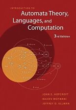 Introduction to Automata Theory,  Languages, and Computation 3rd Edition)