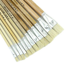 Professional Painting Set 12pcs Acrylic Oil Watercolor Artist Paint Brushes
