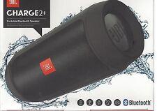 JBL Charge 2+ Portabler Bluetooth-Lautsprecher, SPRITZWASSERGESCHÜTZT *NEU&OVP*