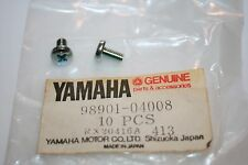 2 NOS YAMAHA SCREWS SNOWMOBILE ATV MOTORCYCLE OIL PUMP 98901-04008