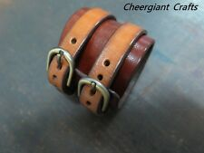 Johnny Depp cuff hand made leather cuff bracelet wristband samples Cheergiant