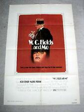 W C FIELDS AND ME Original Movie Poster ROD STEIGER VALERIE PERRINE JOHN MARLEY