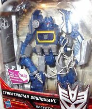 "Transformers Generations WFC Cybertronian Soundwave Advanced ""LOOSE"" complete"