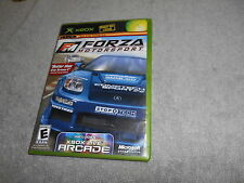 X-Box  Game -  Forza Motorsport --  live Online Enabled - complete