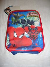 NWT MARVEL ULTIMATE SPIDER-MAN WEB WARRIORS INSULATED LUNCH BAG