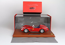 BBR  Ferrari 250 TR59 60 Street Version w/ Glass Cover 1/18 LE of 32 BBRC1805ST