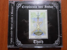 Crepusculo dos Idolos - Thoth RARE Braz Black Metal Private Press AA0100