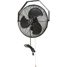 "18"" Industrial Wall Mount Outdoor Fan Black"
