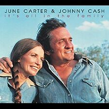 It's All In The Family by Johnny Cash/June Carter/June Carter Cash (CD,...