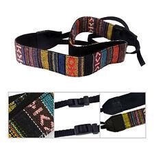 Adjustable Vintage Soft Camera Shoulder Neck Strap Belt for Canon Nikon Sony SLR